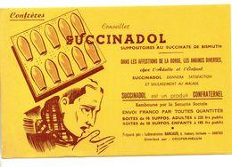 Buvard Succinadol Suppositoires - Produits Pharmaceutiques