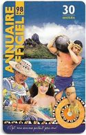 French Polynesia - OPT - Annuaire Officiel Mai 1998, Gem1A Symmetr. Black, 06.1998, 30Units, 50.000ex, Used - Polinesia Francese