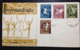 Yugoslavia, Uncirculated FDC, « GYMNASTIC », « ZAGREB 1957 », 1957 - Sommer 1984: Los Angeles