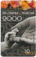 French Polynesia - OPT - Ia Orana & Maeva 2000, Gem1A Symmetr. Black, 01.2000, 30Units, 60.000ex, Used - Polinesia Francese
