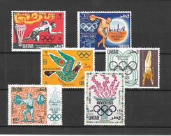 Qatar Série Complète JO 68 ** - Sommer 1968: Mexico