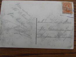 1918-19: N° 135 Sur Carte Vue De Nil St Martin (coin Inférieur Gauche Plié) Oblitérée De FORTUNE  De NIL ST VINCENT - Fortune Cancels (1919)