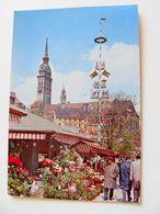 München  MUNCHEN     MERCATO MARKET MARCHE'      GERMANIA   VIAGGIATA  COME DA FOTO - Mercati