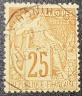 """Colonie Française """"Type Alphée"""" Dubois N° 53  Avec Belle Oblitération Cachet à Date Centrale """"COCHINCHINE'  TB - Alphee Dubois"""