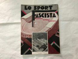 LO SPORT FASCISTA ZORAN CALCIO NAZIONALE OLIMPIADI PUGILATO 1932 CICLISMO CLERICI - Sport