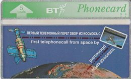 REINO UNIDO. First Telephone Call From Space - Space Station MIR. BTO-056. (768) - Royaume-Uni