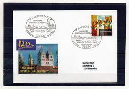 BRD, 2004, Brief (echt Gelaufen) Mit Michel 2401, Sonderstempel, 1200 Jahre Bistum Halberstadt - [7] République Fédérale