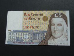 5 Five Pound 1995 - Central Bank Of Ireland  **** EN ACHAT IMMEDIAT **** - Ierland