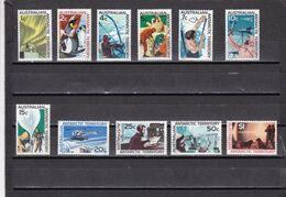 Territorio Antartico Australiano Nº 8 Al 18 - Australian Antarctic Territory (AAT)
