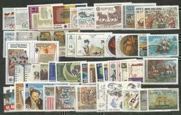 50 Stamps DIFFERENT - MNH - Europa-CEPT - Transport - Art - 1982 - Europa-CEPT