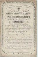 BP Verbrugghen Alphonse Jean Joseph (Aalst 1795 - 1866) - Alte Papiere