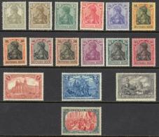 Germany Sc# 80-95 MH 1905-1919 Definitives - Allemagne