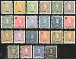 Horta Sc# 13-34 MH (b) 1897-1905 King Carlos - Horta