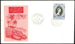 Seychelles Sc# 172 FDC Cachet 1953 6.2 QEII Coronation - Seychelles (...-1976)
