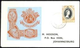 Swaziland Sc# 54 FDC 1953 6.1 QEII Coronation - Swasiland (...-1967)