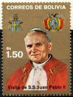 Bolivia 1988 CEFIBOL 1308,  Homage To S.S. John Paul II. - Bolivia
