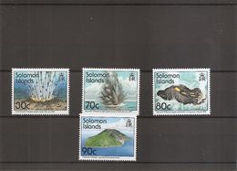 Volcans ( 827/830 XXX -MNH- Des Salomon) - Volcanos