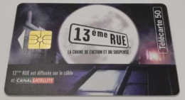 Télécarte - CANAL SATELLITE - 13ème Rue - Advertising