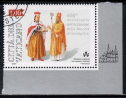 Vatican 2017 Mi# 1895 Used - 600th Anniv. Of The Diocese Of Samogitia / Lithuania - Usados