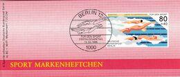 Germany 1986 Booklet: Swimming Schwimmen Natation; 100 Years Of German Swimming Asocciaton - Schwimmen