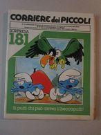 - CORRIERE DEI PICCOLI N 14 / 1981 IL PAESE DEI PUFFI - Corriere Dei Piccoli