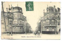 VERNON - Entrée De Ville Et Rue D'Albutéra - Vernon