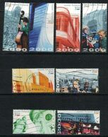2000 Finland, Helsinki Jubilee, 8 Different Complete Set Used. - Finland
