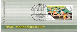 Germany 1986 Booklet: Swimming Schwimmen Natation; Athletics European Championship Stuttgart - Leichtathletik