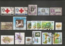 Tonga ( Lot De Timbres Divers Différents Oblitérés) - Tonga (1970-...)