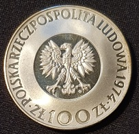 "Poland 100 Zlotych 1974 (Silver) ""500th Anniversary Birth Of Mikolaj Kopenik"" - Polen"