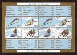 GEORGIA ABKHASIA 1997●Wintersports●only Stamps 1500Rub●MNH - Georgia