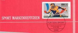 Germany 1989 Booklet: ITTF Table Tennis World Championship; - Tischtennis