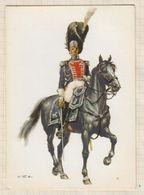 20A1086 GRENADIERS A CHEVAL DU  ROI  ROYAUME DE FRANCE Illustrateur - Personnages