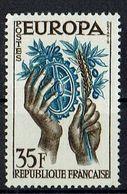 A100.002 // Frankreich 1957 // Mi. 1158 ** // Europa - 1957