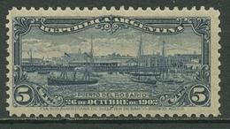 Argentinien 1902 Hafen Von Rosario De Santa Fe 120 Postfrisch - Argentinien