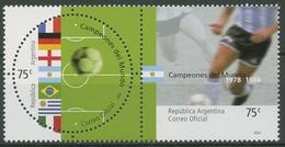 Argentinien 2002 Fußballweltmeister Im 20. Jahrhundert 2715/16 Paar Postfrisch - Ungebraucht