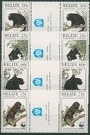 Belize 1997 WWF Tierschutz Brüllaffe 1182/85 ZF Postfrisch - Belize (1973-...)