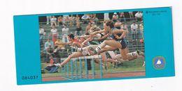 Germany 1982 Booklet: Athletics Hurdler - Leichtathletik