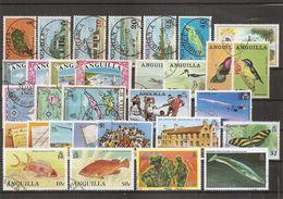 Anguilla ( Lot De Timbres Divers Différents Oblitérés) - Anguilla (1968-...)