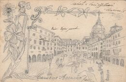 PAVIA - PIAZZA GRANDE - Pavia