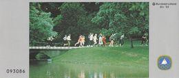 Germany 1982 Booklet: Athletics Running Cross - Leichtathletik