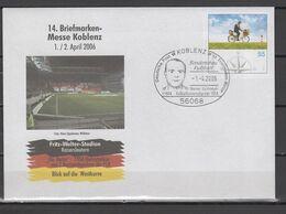 Germany 2006 Football Soccer Commemorative Cover - Briefe U. Dokumente