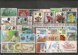 Trinité Et Tobago ( Lot De Timbres Divers Différents Oblitérés ) - Trinidad & Tobago (1962-...)
