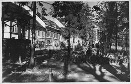 Neumarkt Steinmark Hauptplatz - Adolphe Hitler Briefmarke - - Graz