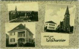 AK GERMANY - GRUS AUS BISCHWEIER - - JOSEFINE WESTERMANN - GENISCHTWAREN - FOTO EWALD BOING - 1950s  (BG9596) - Other