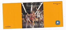 Germany 1985 Booklet: Basketball European Championship - Basketball