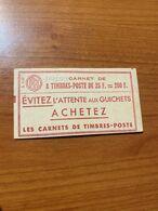 Carnet 1011 CC1-  ( Port Offert ) - Carnets