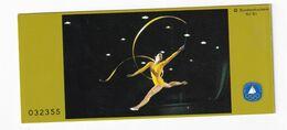 Germany 1981 Booklet: Ryhtmic Gymnastics; Rhytmische Sport Gymnastik - Gymnastics