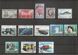 Dépendance De Ross ( Lot De Timbres Divers Différents Oblitérés) - Ross-Nebengebiet (Neuseeland)