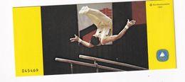 Germany 1983 Booklet: Gymnastics; Turnen; Deutshc Turnfest 1983 - Reitsport